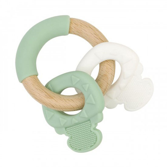 Saro Nature Key Teether - Mint Green Product
