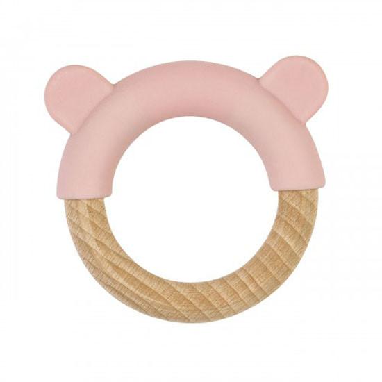 Saro Nature Ring Teether - Pink_thumb1