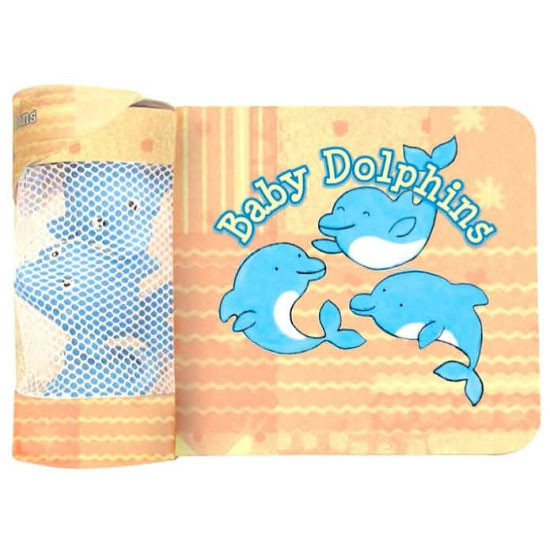 iBaby Bath Book and Float Toys - Baby Dolphin