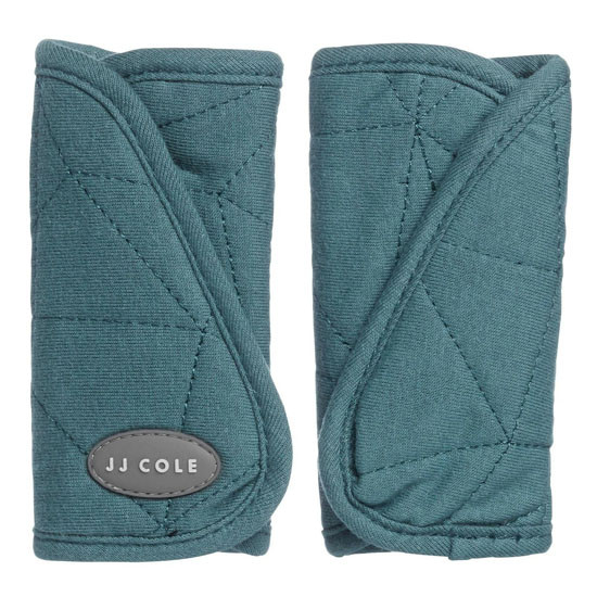 JJ Cole Reversible Strap Covers - Teal Fractal_thumb1