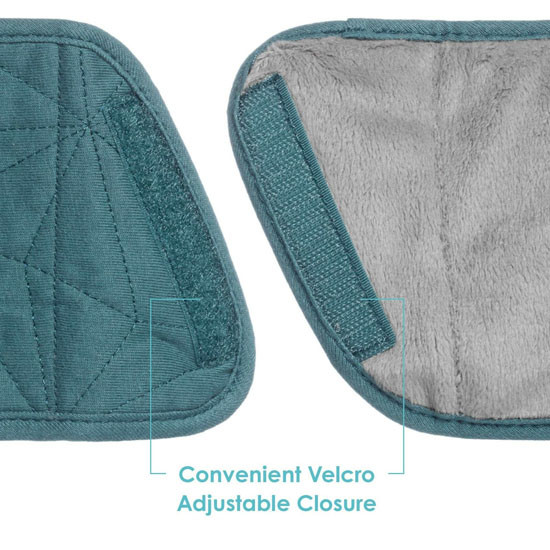 JJ Cole Reversible Strap Covers - Teal Fractal_thumb4