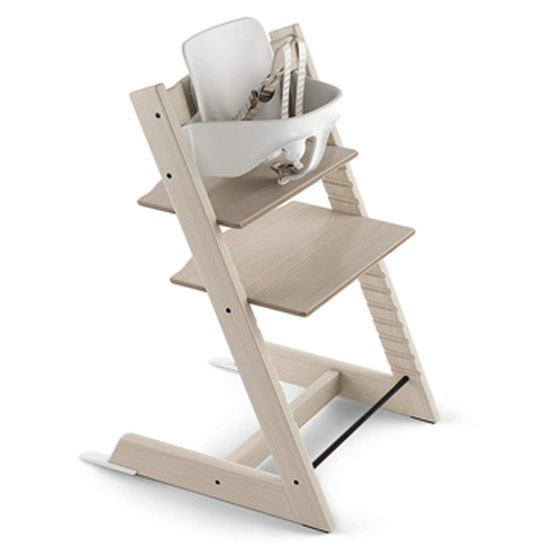 STOKKE Tripp Trapp 2019 High Chair with Baby Set Whitewash