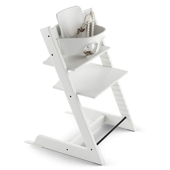 STOKKE Tripp Trapp 2019 High Chair with Baby Set White
