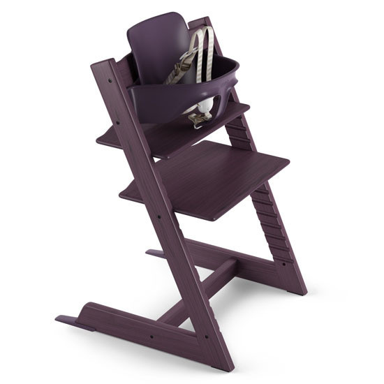 STOKKE Tripp Trapp 2019 High Chair with Baby Set Plum