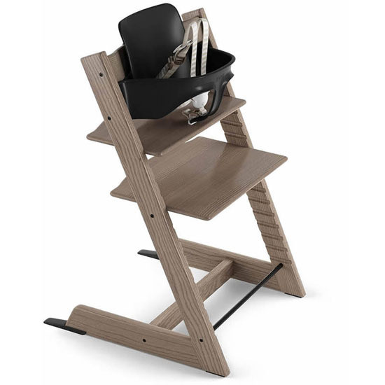 STOKKE Tripp Trapp 2019 High Chair with Baby Set Ash