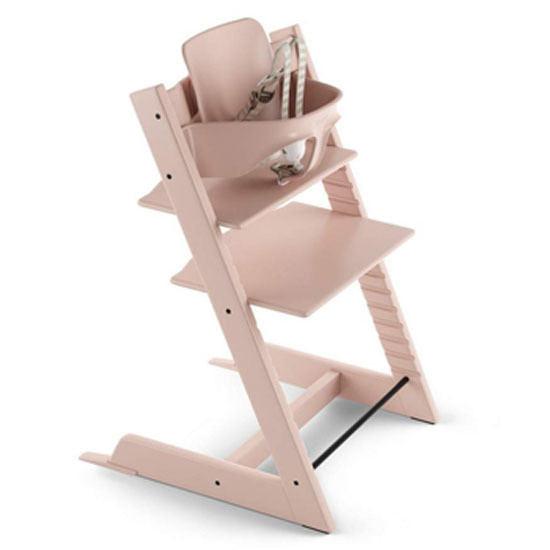 STOKKE Tripp Trapp 2019 High Chair with Baby Set Serene Pink