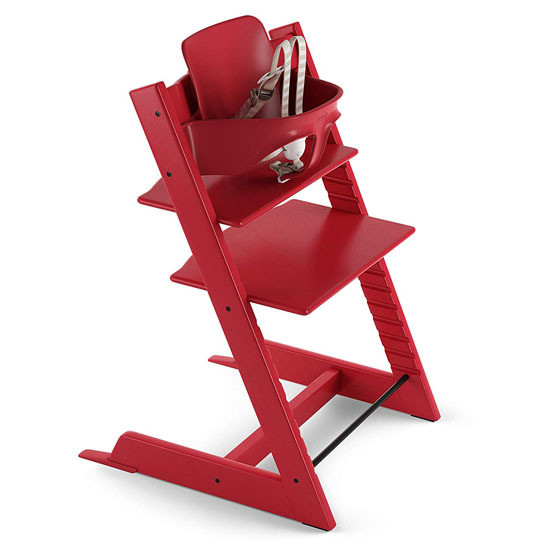 STOKKE Tripp Trapp 2019 High Chair with Baby Set Red
