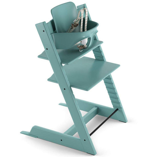 STOKKE Tripp Trapp 2019 High Chair with Baby Set Aqua