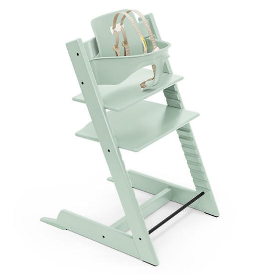 STOKKE Tripp Trapp High Chair with Baby Set Soft Min