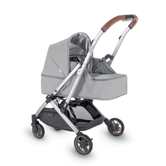UPPAbaby MINU From Birth Kit -  Devin (Light Grey Melange)