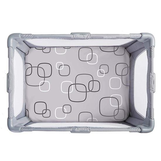4moms Breeze Waterproof Playard Sheet - Silver/White_thumb4