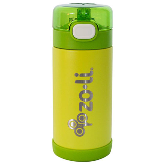 Zoli Inc. POW SQUEAK Insulated Straw Bottle 10 oz - Green_thumb1