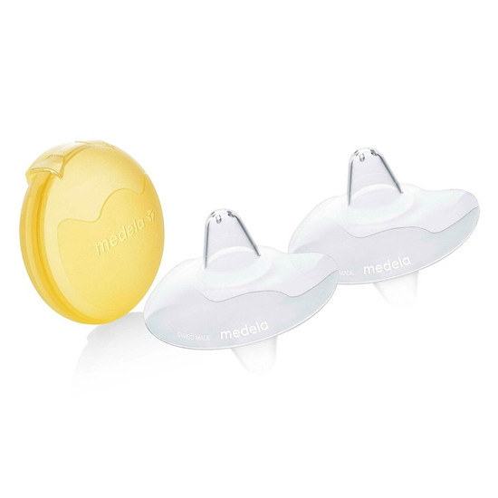 Medela Contact Nipple Shields and Case - 16 mm
