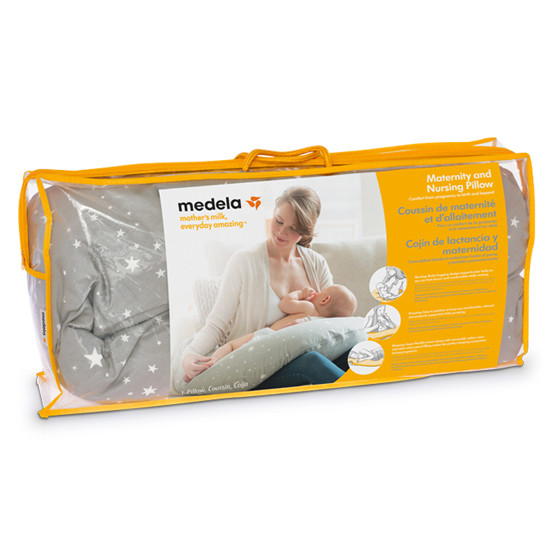 Medela Maternity and Nursing Pillow packaging