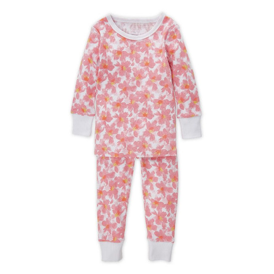 Aden + Anais 2 Piece Cotton Pajamas - Flowers