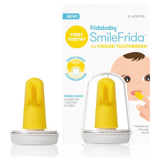 Fridababy SmileFrida the Finger Toothbrush - Yellow