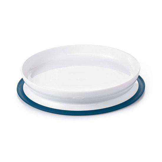 OXO Tot Stick & Stay Plate - Navy_thumb1