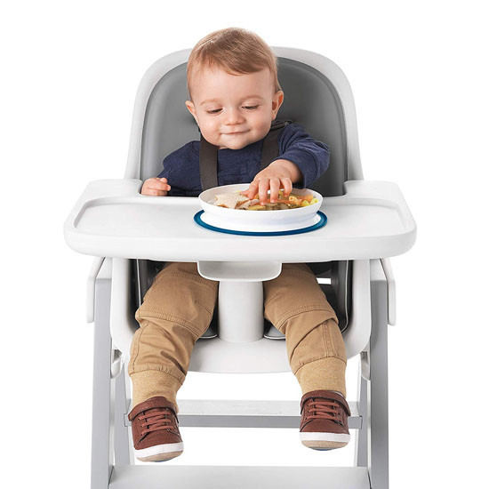 OXO Tot Stick & Stay Plate - Navy_thumb7