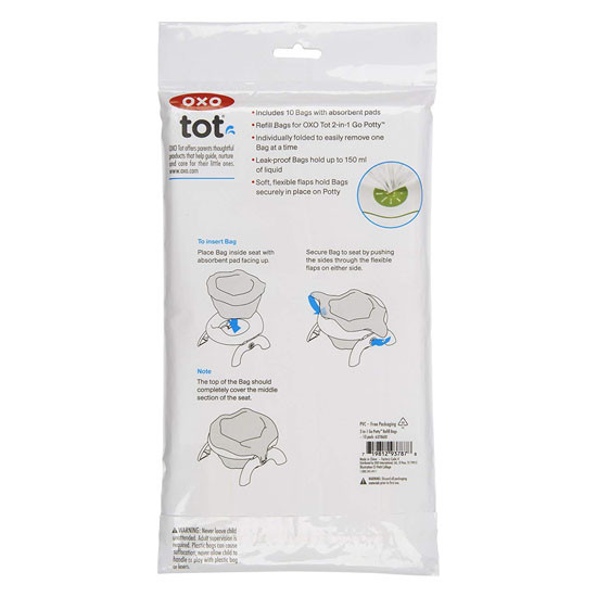 OXO 2-in-1 Go Potty Refill Bags - 10 Pack_thumb1_thumb2