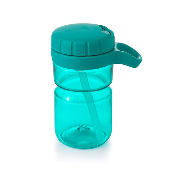 OXO Twist Top Water Bottle - Teal_thumb3