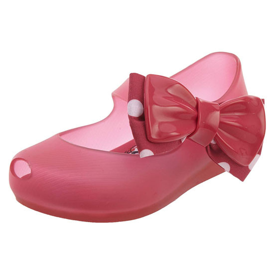 Mini Melissa Ultragirl + Minnie Ballet Flat - Pink_thumb1