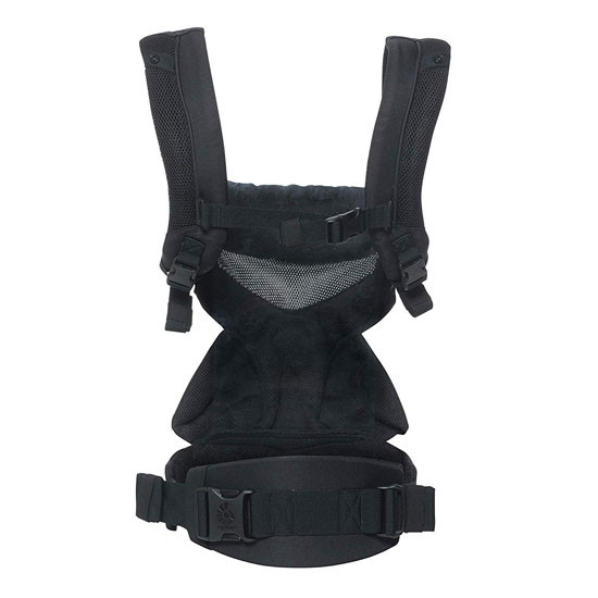 Ergo Baby 4 Position 360 Baby Carrier - Cool Air Mesh Onyx Black_thumb1_thumb2