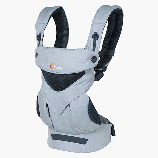 Ergo Baby 4 Position 360 Cool Air Mesh Carrier Chambray