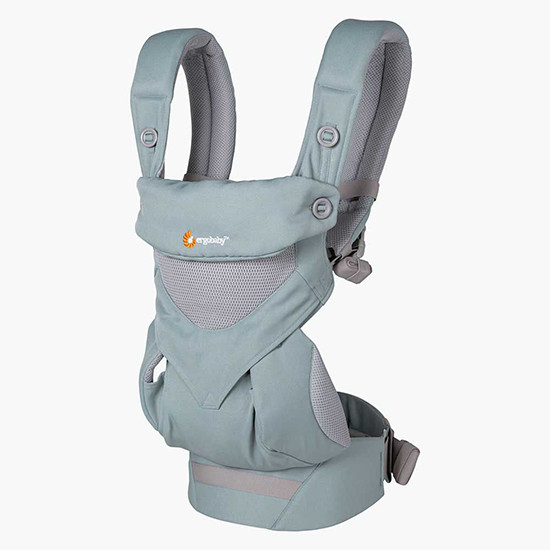 Ergo Baby 4 Position 360 Cool Air Mesh Carrier Sea Mist