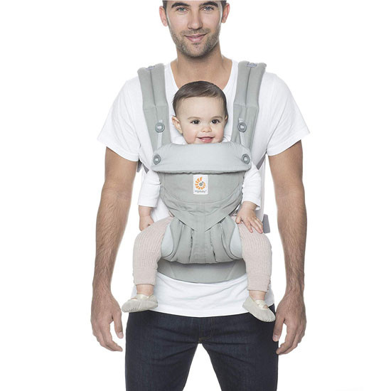 Ergo Baby 4 Position 360 Baby Carrier - Pearl Grey_thumb3