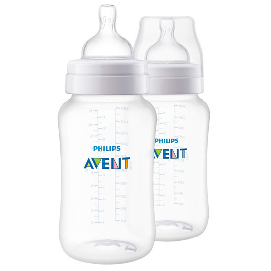 Philips Avent Anti-Colic Bottle - 11 oz - 2 Pack_thumb1