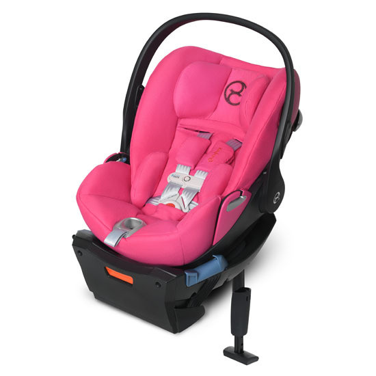 CYBEX Cloud Q with SensorSafe in Pink
