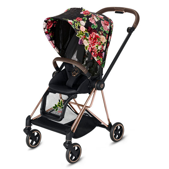 CYBEX 2019 MIOS 2 Complete Stroller - Spring Blossom Dark_thumb1_thumb2