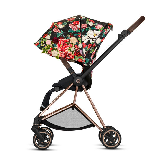 CYBEX 2019 MIOS 2 Complete Stroller - Spring Blossom Dark_thumb5