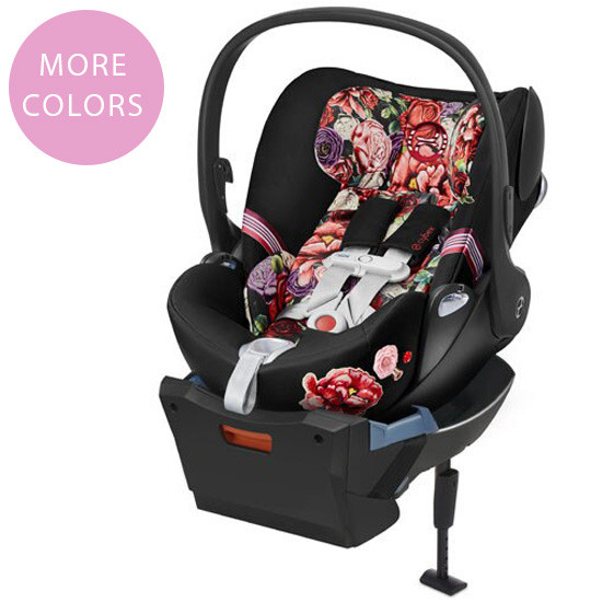 Cybex Cloud Q with SensorSafe Infant Car Seat - Spring Blossom