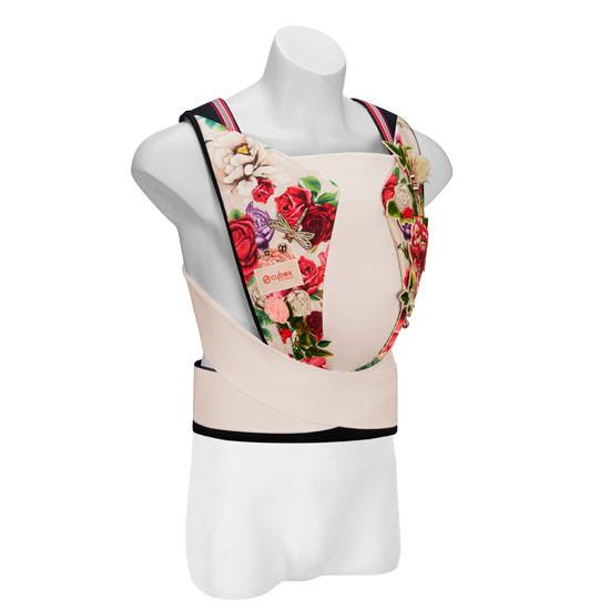 Cybex YEMA Baby Carrier Tie Denim - Spring Blossom Light