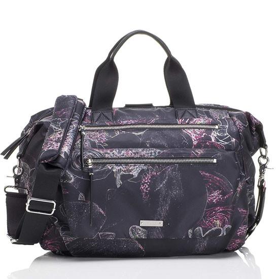 Storksak Seren Diaper Bag - Floral_thumb1
