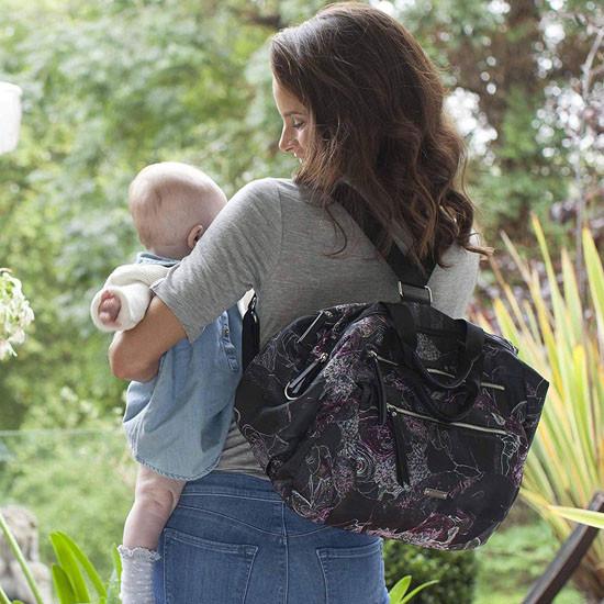 Storksak Seren Diaper Bag - Floral_thumb6