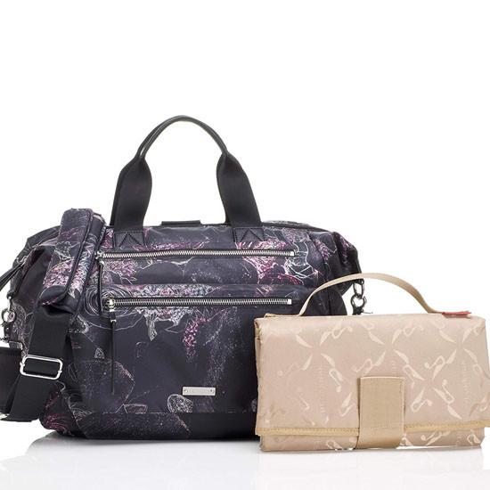 Storksak Seren Diaper Bag - Floral_thumb1_thumb2