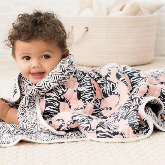 aden + anais White Label Classic Dream Blanket - Pacific Paradise_thumb1