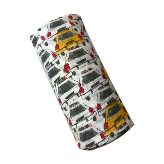 """Aden + Anais 47"""" Silky Soft Swaddle - City Living Taxi_thumb1_thumb2"""