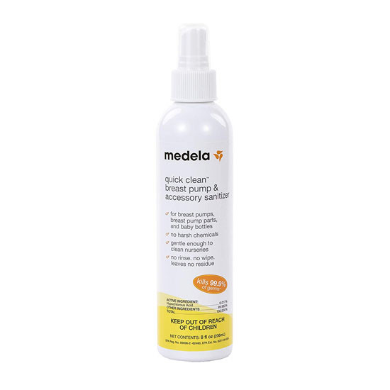Medela Quick Clean Breast Pump & Accessory Sanitizer Product