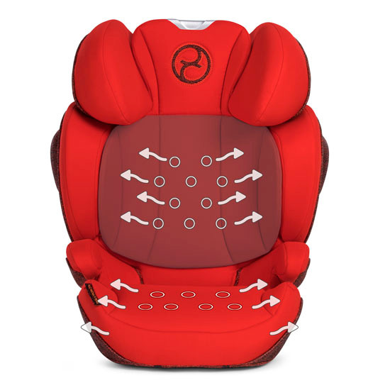 CYBEX Solution Z-Fix Booster Seat - Autumn Gold_thumb7