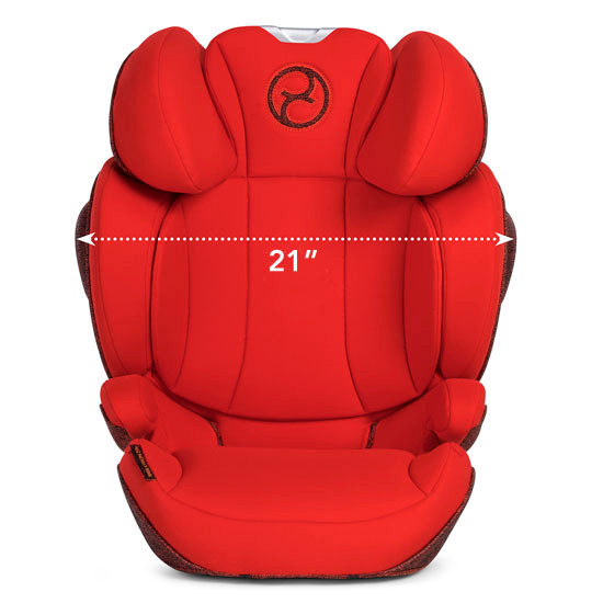 CYBEX Solution Z-Fix Booster Seat - Autumn Gold_thumb5