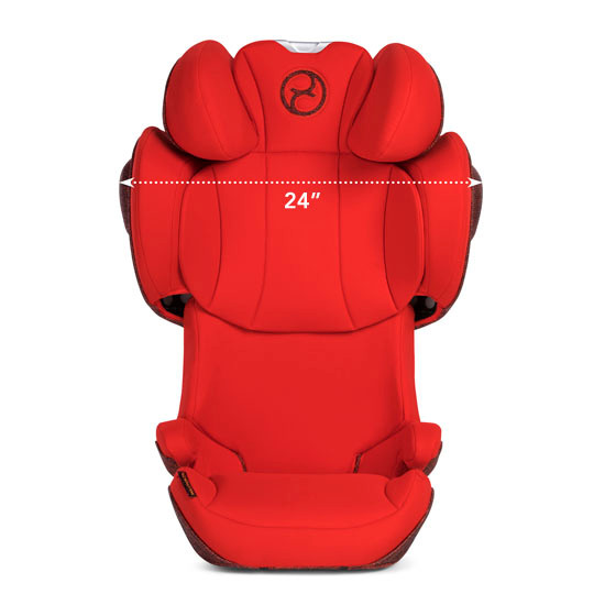 CYBEX Solution Z-Fix Booster Seat - Autumn Gold_thumb4