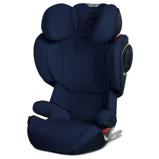 CYBEX Solution Z-Fix Booster Seat with Blue Seat