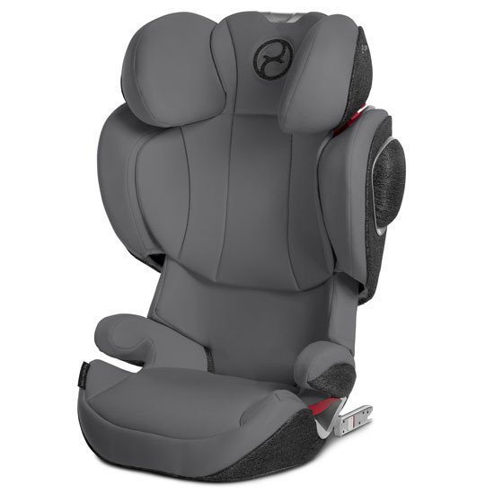 CYBEX Solution Z-Fix Booster Seat with Grey Seat