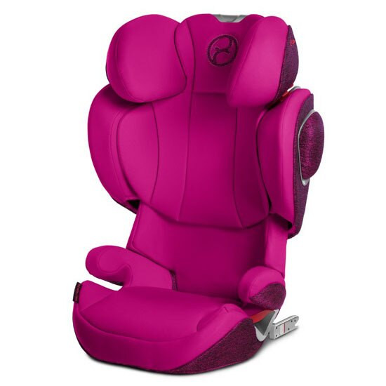 CYBEX Solution Z-Fix Booster Seat with Pink Seat