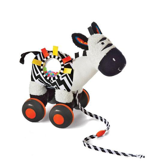 Manhattan Toy Wobble-A-Along Zebra_thumb1