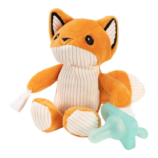 Dr. Brown Lovey Pacifier & Teether Holder - Franny the Fox_thumb1