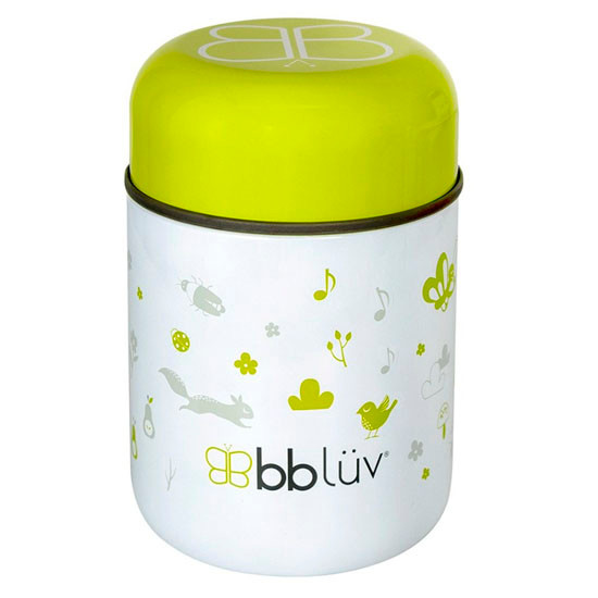 BBLuv Food Thermal Food Container with Spoon 10oz - Lime_thumb1_thumb2